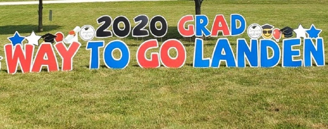 cass county graduation yard design