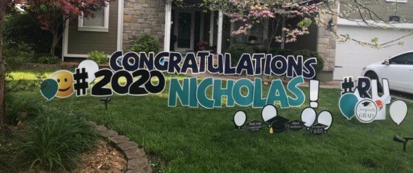 Congratulations Yard Sign