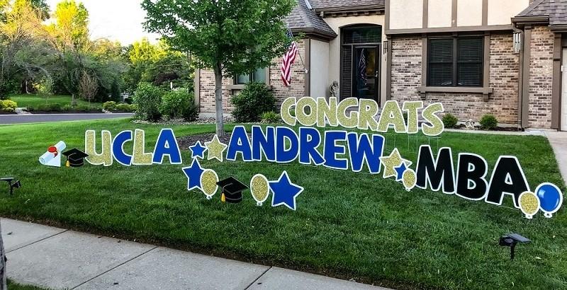 congratulations yard signs johnson county