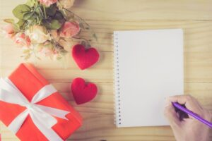 personalizing your wedding day with love letters